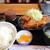麦 - 料理写真:ヒレカツセットです☆ 2021-0722訪問