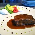 kufuku - メインディッシュ 和牛頬肉の煮込み