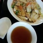 菜花 - 五目焼きそば★スープ付★820円