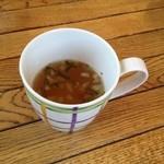15544685 - ランチのスープ