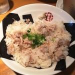 つけ麺 おんのじ - チャーシュー飯