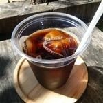ひばり屋 - 深煎りアイスコーヒー \350