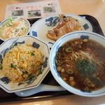 龍泉飯店 - 料理写真:たらふくセットA