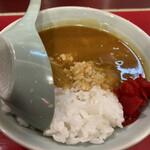 155450683 - 茶碗カレー