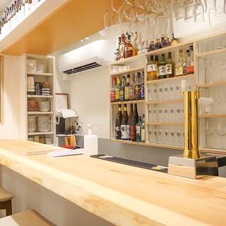 開放感のある空間でお料理を楽しめます♪