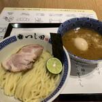 つじ田 - 料理写真:濃厚味玉つけ麺 1080円