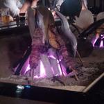 蔵の庄 - 炭焼き