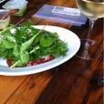 15546040 - タコのテリーヌと白ワイン