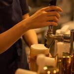 ビストロフジ - 生ビール
