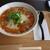 春水堂 - 料理写真:豆漿鶏湯麺ドリンクセット