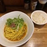 汁なし担々麺 麻沙羅 - ミニライス 50円 (平日限定)