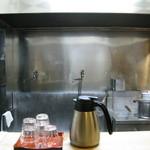 ○修 - 簡易な厨房が良く見えます
