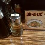麺鮮醤油房 周月 - 油そば用
