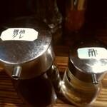 麺鮮醤油房 周月 - 油そば用 接写
