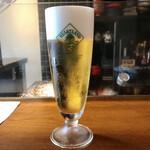 九〇萬 - とりあえずハートランド生ビールスタートね