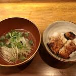 九〇萬 - 筑後川天然鰻丼、鱧と京都 せりのお吸い物