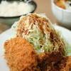 とん喜 - 料理写真:ヒレ・コロッケ定食