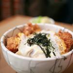 とん喜 - カツ丼定食のカツ丼