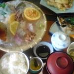 1555555 - 親父の釣った魚定食
