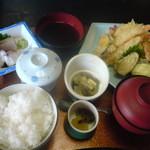 1555556 - 天ぷら定食