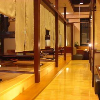 ◆広いお座敷席◆ご家族でお食事も宴会利用も可能です♪
