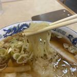 155504992 - 麺も優しいスープにピッタリ