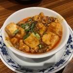 横浜中華街 重慶飯店 - ランチの追加麻婆豆腐500円