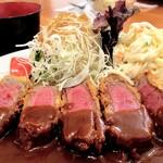 洋食の藤 - 料理写真:牛ヒレビフカツ