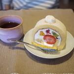 菓子工房 アントレ - 2012/10 フルーツロール