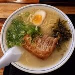 ラーメン櫻島 - 一枚チャーシュー麺 690円