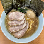 極楽汁麺 らすた - ■味玉チャーシュー麺¥1000