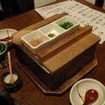 うしのほね - 高濃度の豆乳:できたて豆腐:1200円(*≧◡≦*)