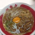 155548414 - 東大醤油とんこつ小+無料生玉子