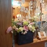 兵六玉 - ところどころに、飾られた・・・お花が・・・可愛い~✿
