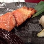 15555133 - ランチの紅鮭塩麹焼