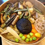 銀の穂 - 山菜わっぱめし