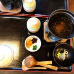 銀の穂 - 山菜わっぱめし付属の品
