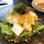 銀の穂 - とうふサラダ