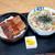 小島 - 料理写真:うな丼、肉うどん
