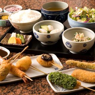 【ランチ】串揚げ定食1,000円より