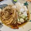 やしま - 料理写真:「冷しおろしきのこ蕎麦」520円也。税込。