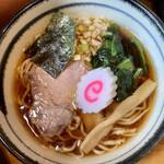 麺屋 藤 - 醤油らぁめん ミニ