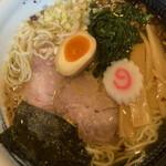麺屋 藤 - 塩らぁめん 並