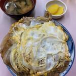 中華料理 味楽 - カツ丼