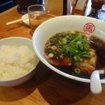 我馬 - 黒うま+白飯
