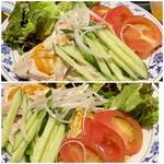 重慶厨房 - 冷麺 棒々鶏冷麺 角度を変えてパシャリ!!