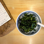 いづみや - 山葵菜のお浸し 300円