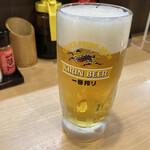 マンヨシ - 生ビール(中)