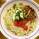 麺屋 ぬまた - 料理写真:【夏季限定】塩の冷やし麺