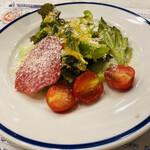 ピッツェリア・アッソ・ダ・ヤマグチ - ミニトマトが甘くて美味しい♡